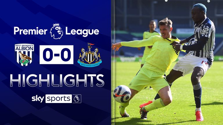 FREE TO WATCH: Highlights from West Brom's draw with Newcastle in the Premier League