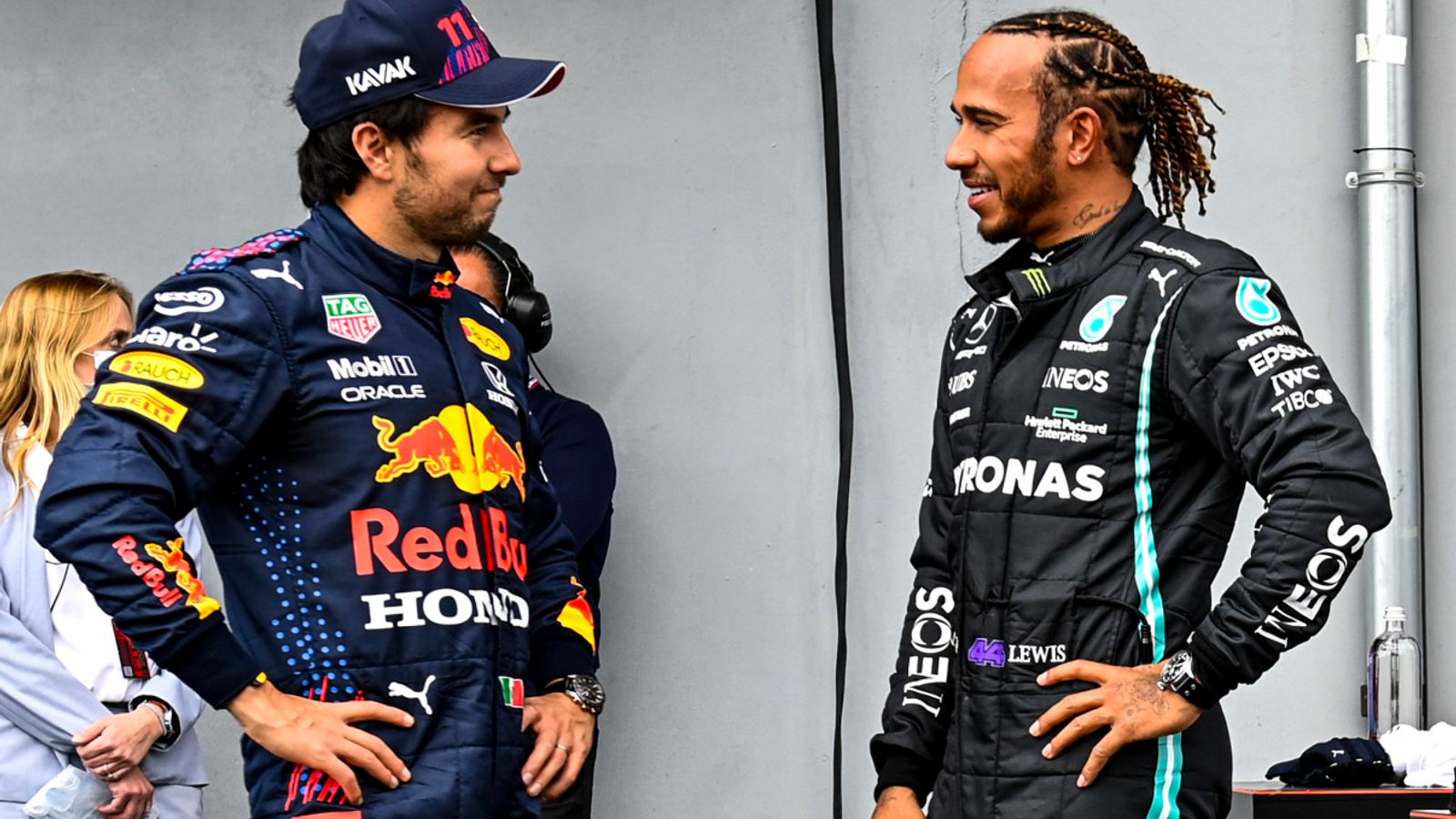 Lewis Hamilton 'surprised' to beat Red Bulls to Emilia-Romagna GP pole as he continues to 'love' new fight