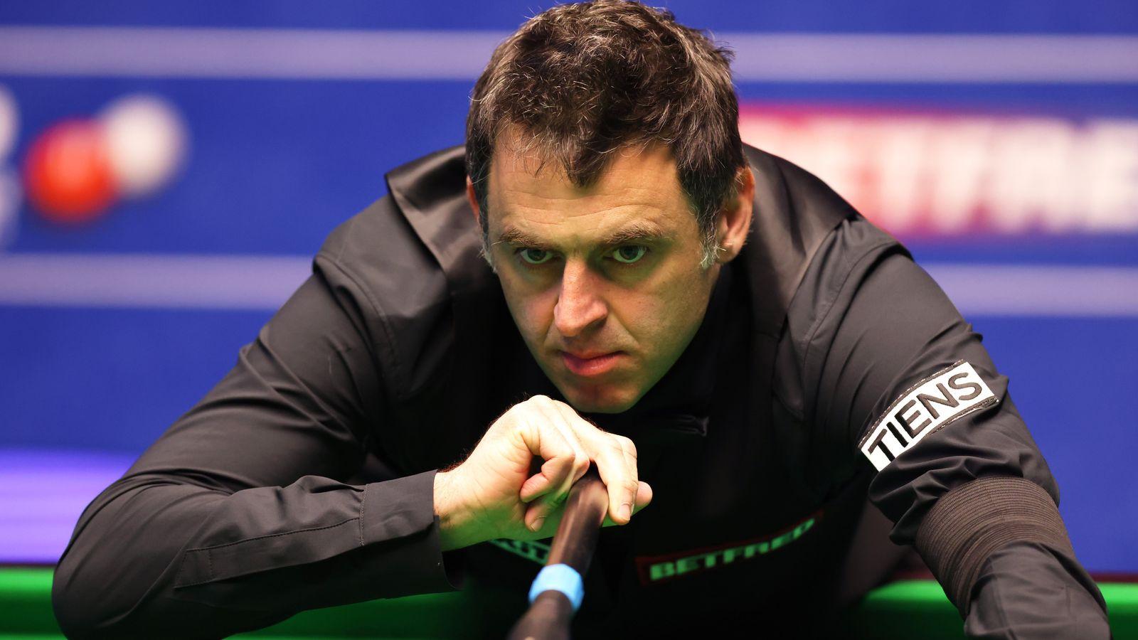 Ronnie O'Sullivan has overtaken Mark Joyce at the World Snooker Championships, Crucible |  Snooker News
