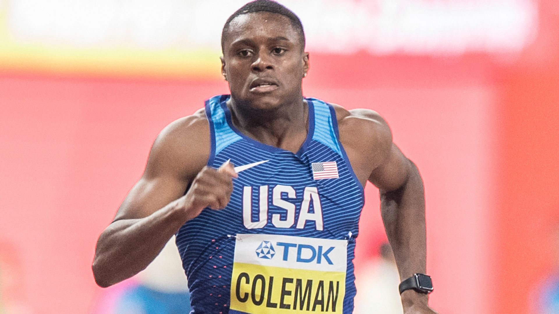 Coleman's ban reduced but will still miss Olympics