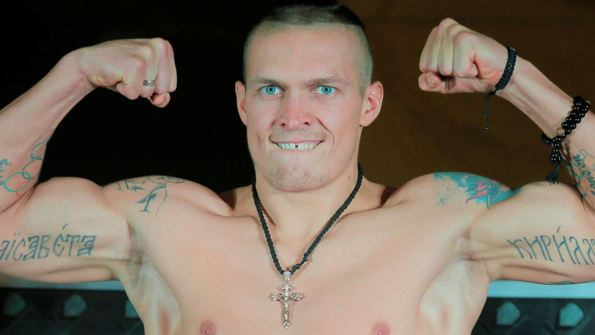 Oleksandr Usyk is unbeaten but, as an amateur, lost to Shawn Porter who is now