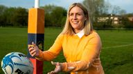 Rachael Burford: Harlequins captain and England international team bid to elevate women's rugby |  Rugby news
