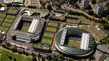 An 8,000-seater show court is included in Wimbledon expansion plans