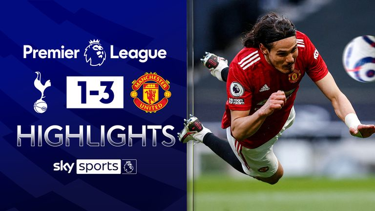 FREE TO WATCH: Highlights from Manchester United's 3-1 win against Tottenham
