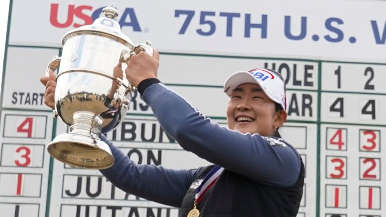 A Lim Kim will defend her US Women's Open title this summer, following her victory in Houston last December