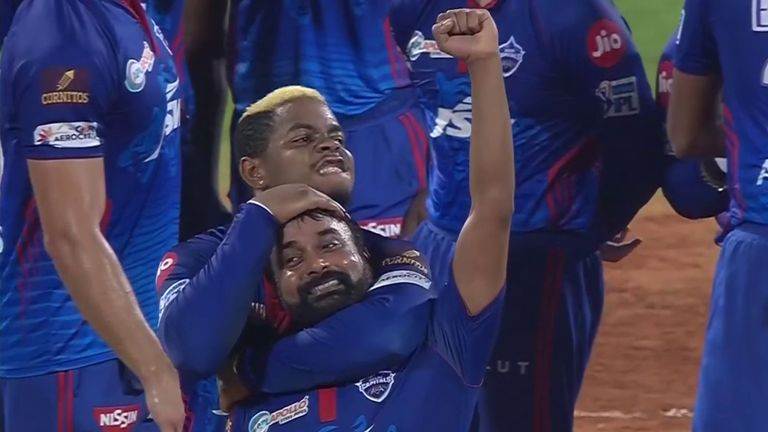 Amit Mishra took 4-24 as Delhi Capitals restricted Mumbai to 137-9