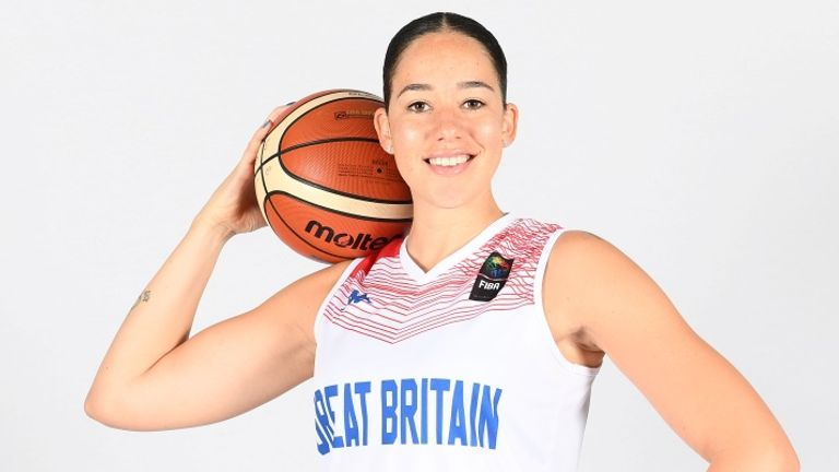 Azania Stewart came out of retirement to sign for Leicester for the 2020-21 campaign. Image: WBBL