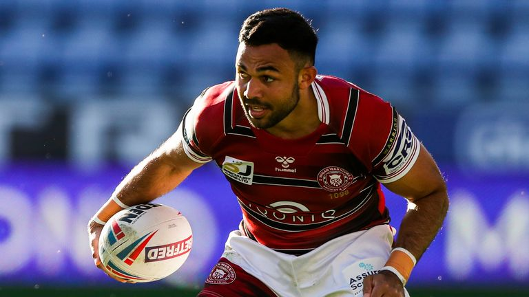 Bevan French ran in two tries on his return to the Wigan team