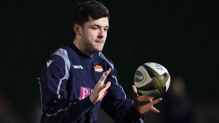 Blair Kinghorn starts at fly-half for Edinburgh against Racing 92