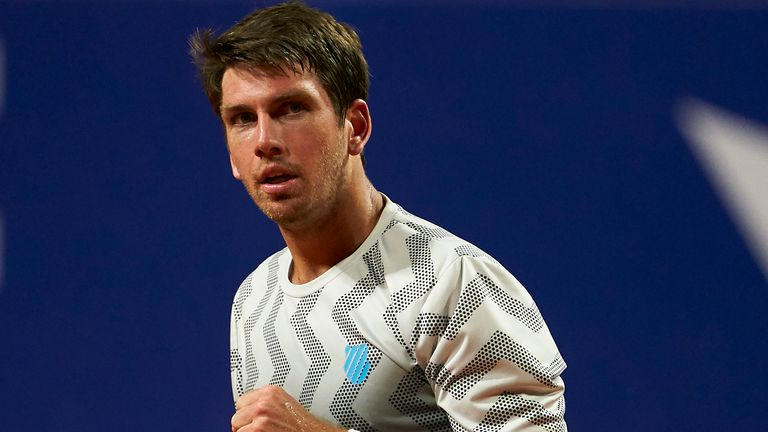 Cameron Norrie continued his fine start to the 2021 season at the Barcelona Open