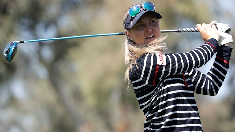 Charley Hull is one of four English players in the field this week