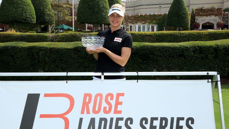Charley Hull won the Rose Ladies Series Order of Merit last year
