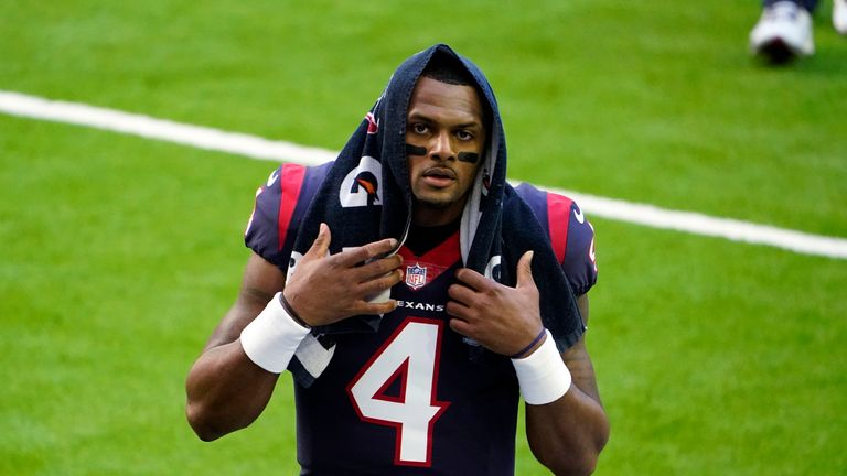 The NFL is investigating allegations into Houston Texans quarterback Deshaun Watson
