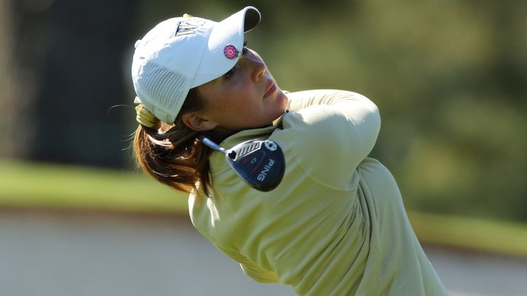 Emilia Migliaccio missed out after bogeying the first play-off hole
