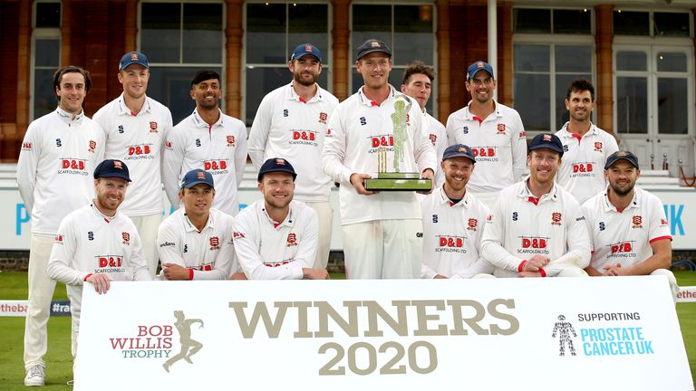 Harmer has helped Essex win three red-ball titles in the past four seasons