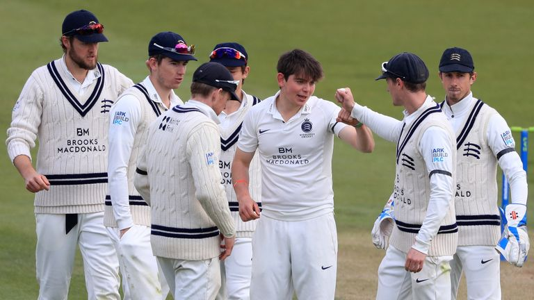 Middlesex took the final seven Surrey wickets for just 25 runs en route to claiming their first win of the County Championship season
