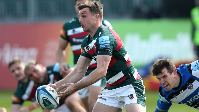 George Ford kicked Leicester into a 6-0 lead, and was central to their positive play at the Rec