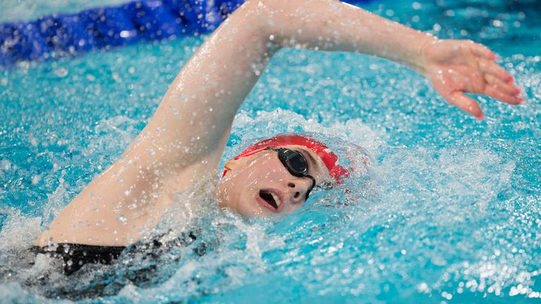 Sky Sports Scholar Freya Anderson is one of the swimmers selected for this summer's Olympics
