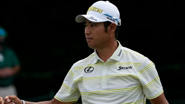 Matsuyama has had to come to terms with the huge attention on him in Japan