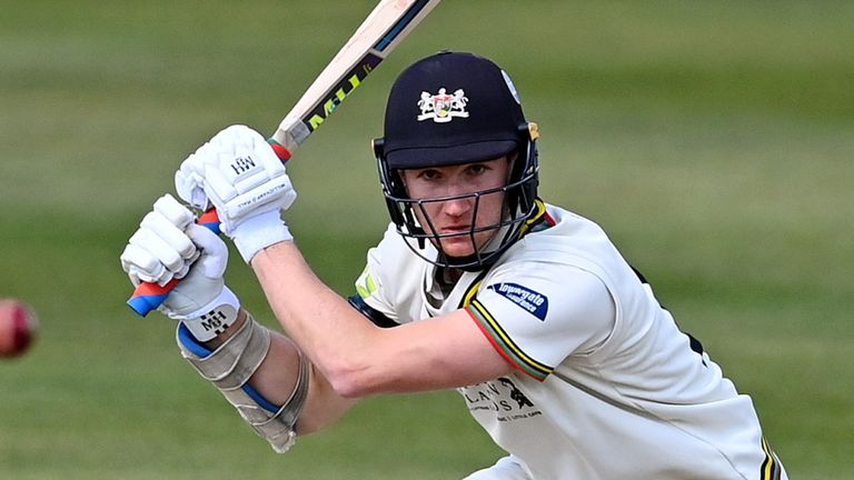 James Bracey hit a hundred for Gloucestershire to boost his hopes of an England Test call up