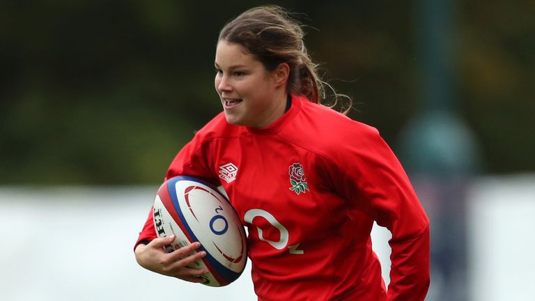 Jess Breach has scored 24 tries in 15 Tests for England