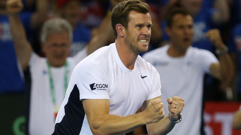Smith has been mightily impressed with British No 1 Evans