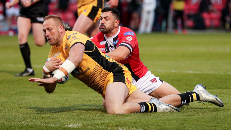 Match Report – Salford 18-28 Castleford