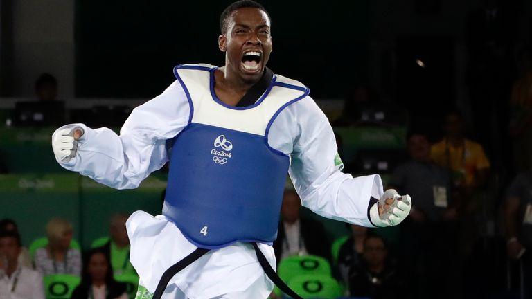 Lutalo Muhammad at Rio Olympics in 2016