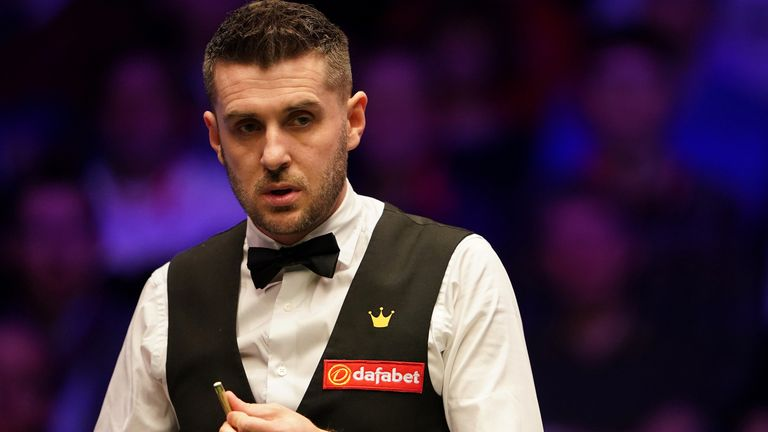 Mark Selby will be aiming to win a fourth crown at the Crucible