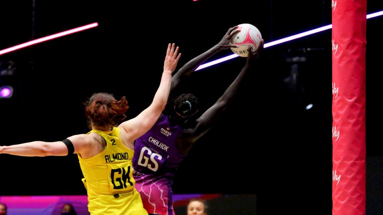 Mary Cholhok is instrumental for Lightning in their shooting circle (Image Credit - Ben Lumley)