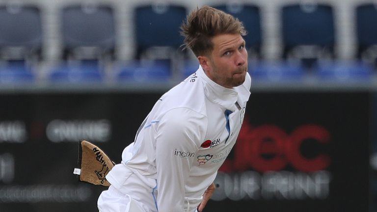 All-rounder Critchley scored 193 runs and took eight wickets against Worcestershire