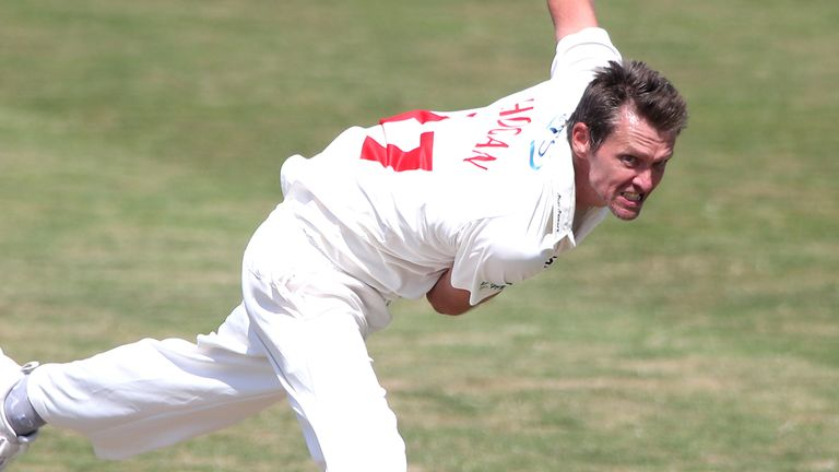 Veteran seam Michael Hogan remains a fulcrum of Glamorgan's attack