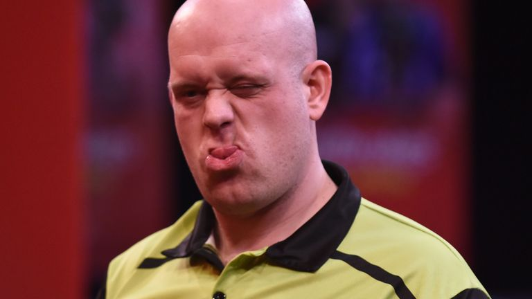 Michael van Gerwen has an eye on a sixth Premier League title and world No 1 in 2021