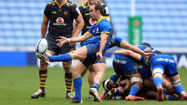 Morgan Parra made a big impact off the bench for Clermont