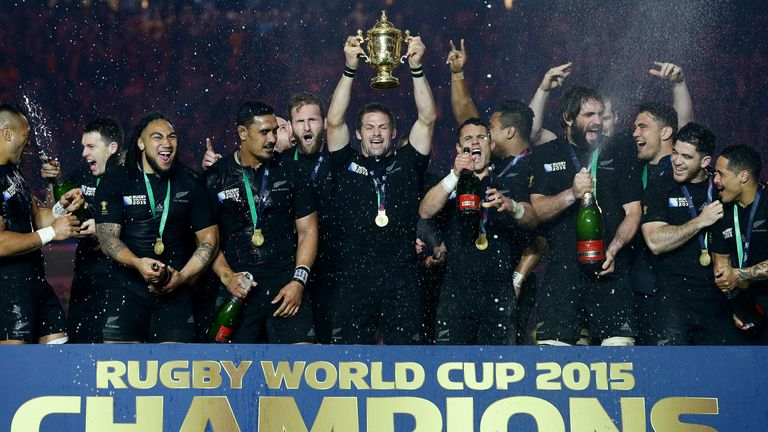 The All Blacks have won the Rugby World Cup three times