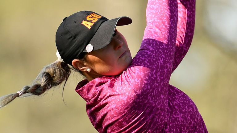 Olivia Mehaffey sits tied-third heading into the final round at Augusta National