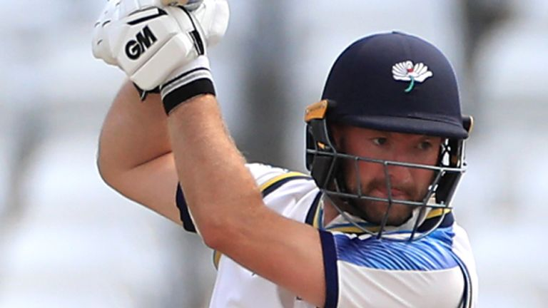 Yorkshire's Adam Lyth struck 15 fours in his 97 off 116 balls
