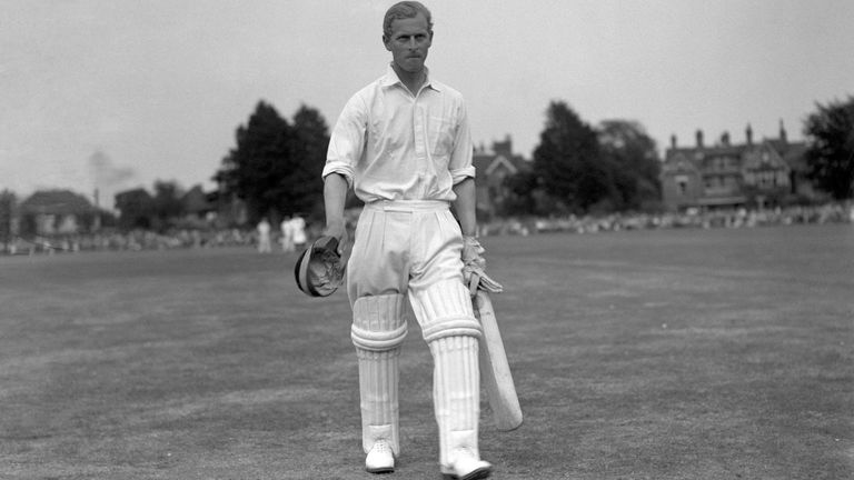 Prince Philip was a lifelong cricket fan