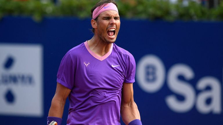 Nadal came through in three sets against Kei Nishikori