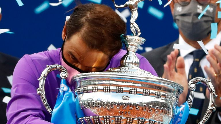 Madrid Open: Rafael Nadal is ready for his home tournament in the Spanish capital |  Tennis News
