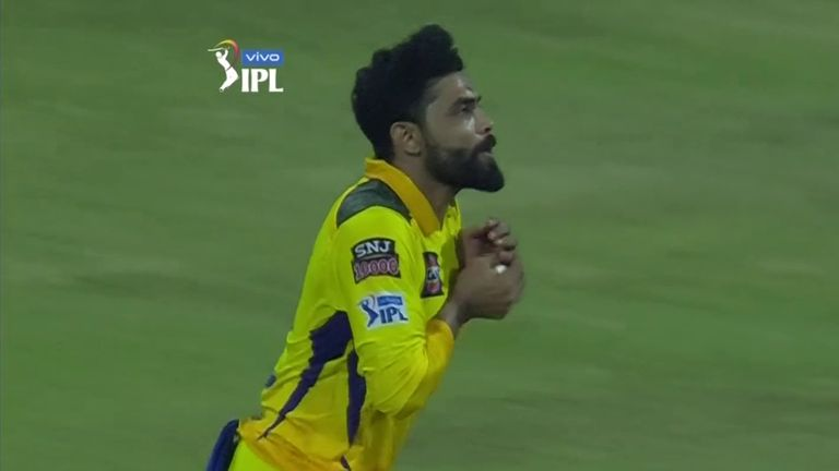Ravindra Jadeja was outstanding in the field for Chennai, with two catches and a superb run out