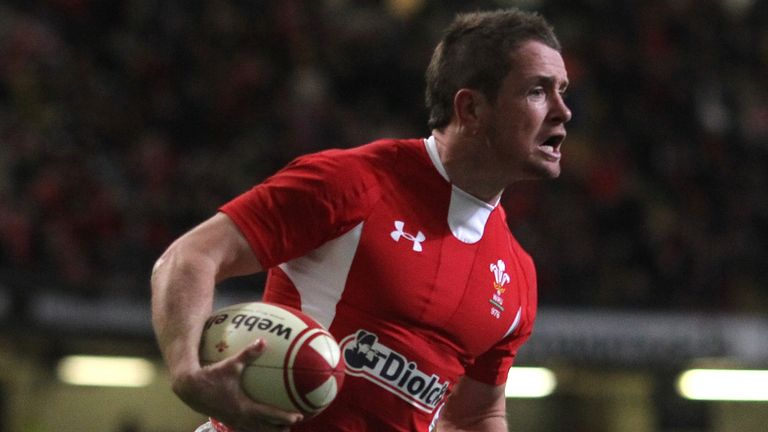 Shane Williams scored a record 58 tries in 87 appearances for Wales