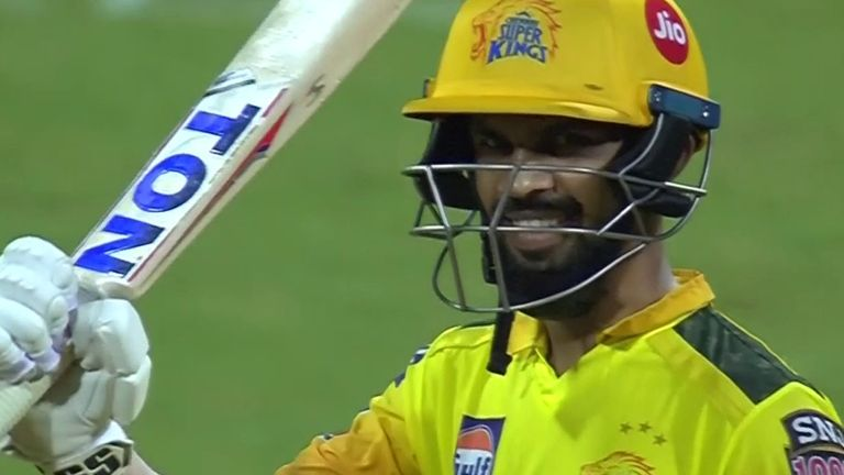 Ruturaj Gaikwad's fourth IPL fifty came up off just 33 deliveries against Kolkata