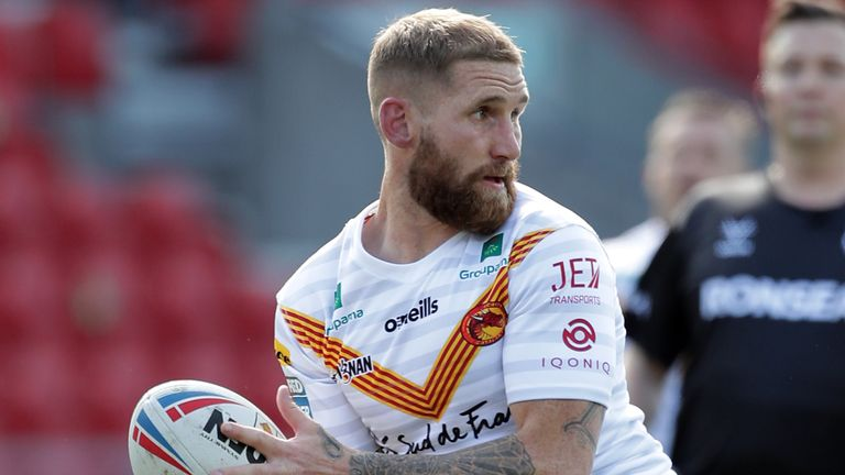 Sam Tomkins' leadership was praised by Catalans head coach Steve McNamara