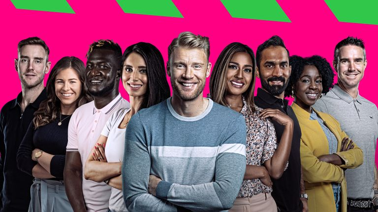 Meet the Sky Sports team for the inaugural edition of The Hundred, including Andrew Flintoff and Tammy Beaumont