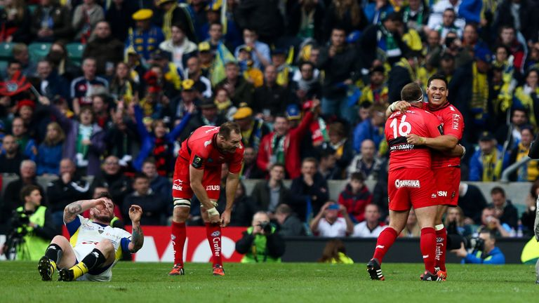 Clermont lost to Toulon in the 2015 final at Twickenham