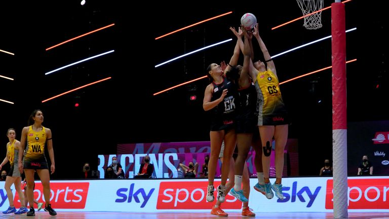 Vitality Netball Superleague: Wasps and Manchester Thunder end time at Wakefield |  Netball News