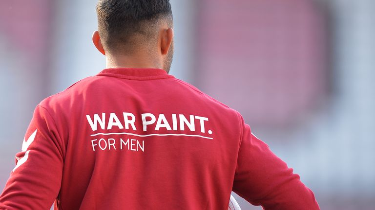 Wigan Warriors put on War Paint for new partnership to raise mental health