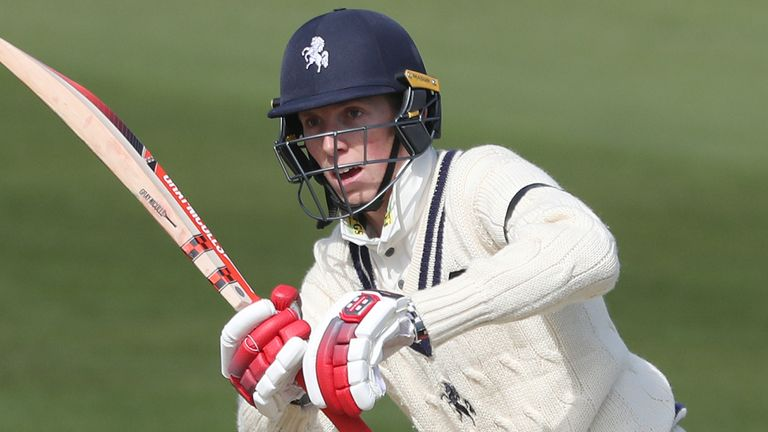 Zak Crawley will form part of a strong Kent batting line-up