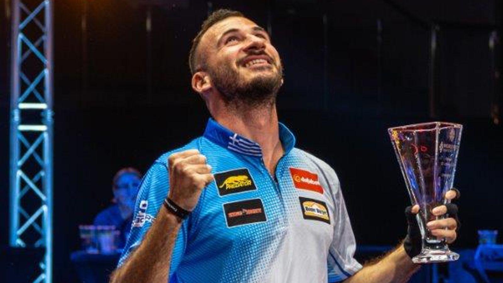 World Pool Masters: Alex Kazakis produces perfection to claim title in Gibraltar